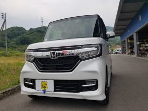 ホンダ N-BOXカスタム 納車